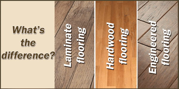 The difference between Laminate Flooring and Engineered Wood Flooring